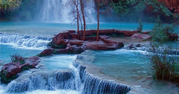 Havasupai Falls, Grand Canyon National Park. My God is AMAZING!