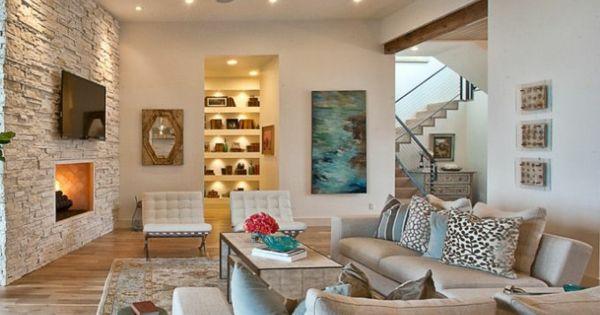 l pierre de parement int rieur murs de pierre s jour et mur. Black Bedroom Furniture Sets. Home Design Ideas