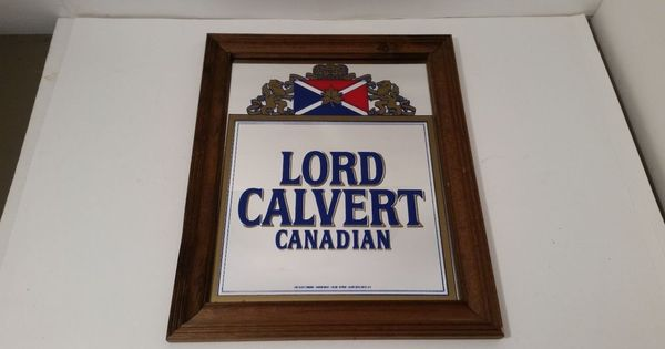 Man Cave Signs Canadian Tire : Lord calvert canadian whisky mirror bar man cave garage