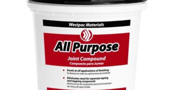 Westpac Materials 1 3 4 Pt All Purpose Pre Mixed Joint Compound 55410h The Home Depot Purpose Joint Compounds