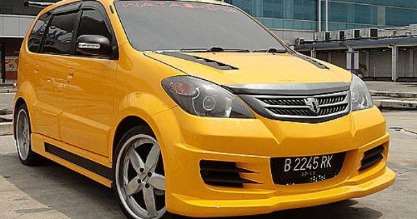 Modifikasi Mobil Avanza Kuning Modifikasi Mobil Mobil Sedan