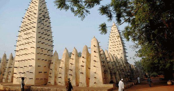 mosque in bobo dioulasso – burkina faso | the vernacular facade