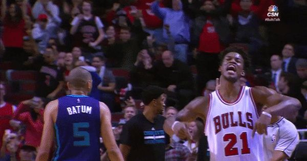 New Party Member Tags Basketball Nba Excited Chicago Bulls Bulls Pumped Lets Go Jimmy Butler Pumped Up Fired Up Chicago Sports Teams Chicago Sports Funny Gif