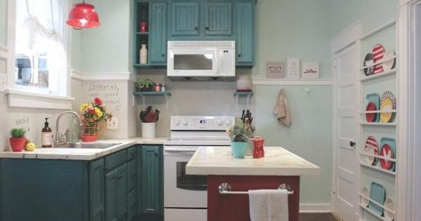 Kitchen remodel on a budget from for Country kitchen remodel on a budget