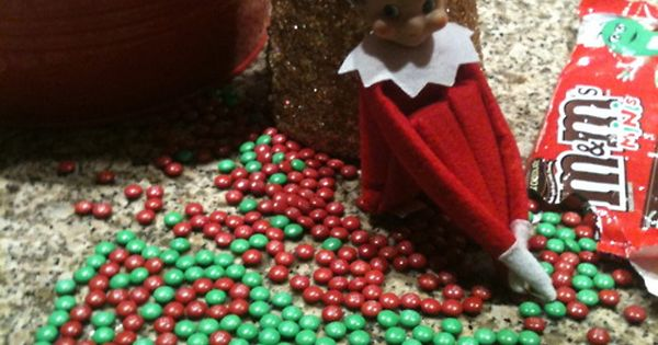 Elf on the Shelf Leaves Message with M Kids loved this one!