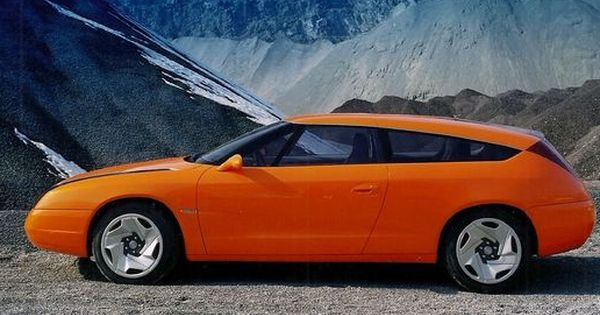 Bertone Concept Opel Slalom 1996 With Images Opel Concept Cars European Cars