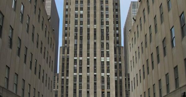 NY-Rockefeller Center, NYC is a complex of 19 commercial buildings covering 22