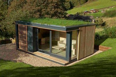 Shedworking Choosing A Shed Pod Space Container House Garden Office Shed Backyard Office