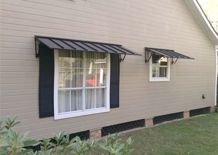 Metal Window Awnings Houses I Like Pinterest Metal