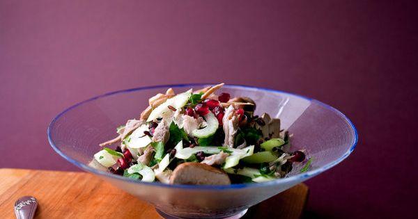 Turkey and wild rice salad recipe (Photo: Andrew Scrivani for The New ...