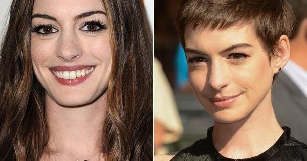Anne Hathaway's Short Hair — 'Les Miserables' Haircut Made Her Weep -
