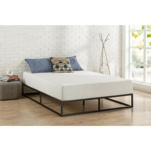Zinus Modern Studio Platforma Twin Metal Bed Frame Hd Mbbf 10t At