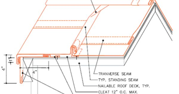 Architectural Details Roofing Systems Standing Seam Roofing Standing Seam Standing Seam Metal Roof Standing Seam Roof