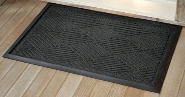 Diamond Tray Mat Charcoal By Orvis 39 00 Enhanced With A Diamond Grid Pattern For Sloughing Water Off To The Side These Exceptionally Functional Floor Cove