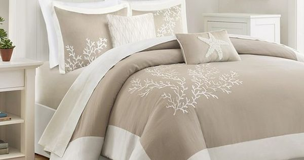 Sand And Shore Duvet Collection Queen Size Bedding