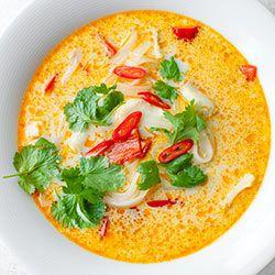 Laksa Z Dorszem I Papryka Kwestia Smaku Laksa Food Healthy Recipes