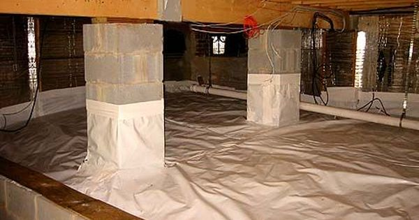 How To Insulate A Crawl Space With A Dirt Floor Basement
