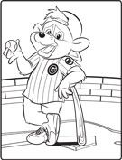 Clark S Crew Chicago Cubs Coloring Pages Chicago Cubs
