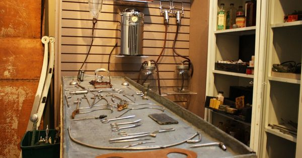 Old Embalming Table From The Funeral Home Museum Blog