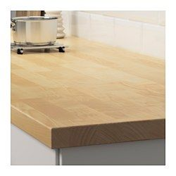 Furniture Karlby Countertop Replacing Kitchen Countertops Butcher Block Countertops