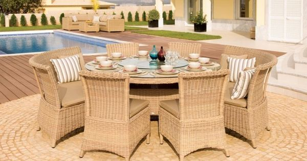 Outdoor garden furniture auckland 170cm round dining for C furniture auckland