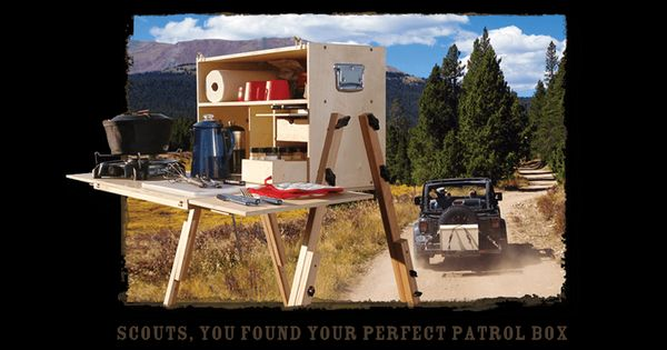 Outdoorsman kit for scouts free camp kitchen plans take your kitchen outside of your tiny - The scouts tiny house ...