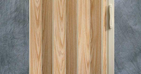 Puerta de cabina tipo acorde n enchapada en madera de for Puerta de acordeon castorama