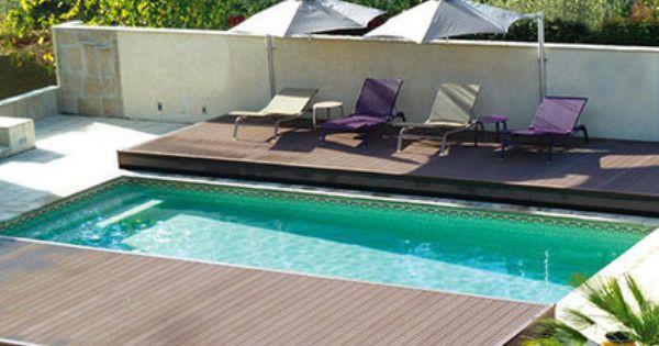 Une terrasse mobile pour couvrir votre piscine - Jacuzzi petite taille ...