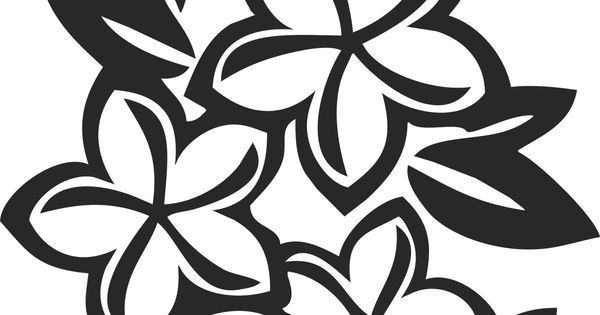 flower patterns | Outlines & Silhouettes | Pinterest ...