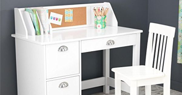 Kidkraft Study Desk With Side Drawers White Kidkraft Http