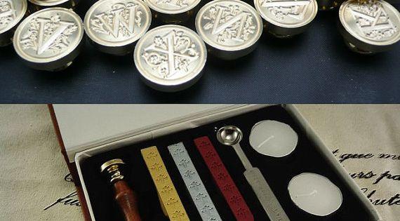 Sealing wax too... Letter Sealing Wax Kit