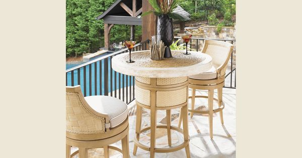 Tommy bahama outdoor living canberra surf and sand bistro for Outdoor furniture canberra