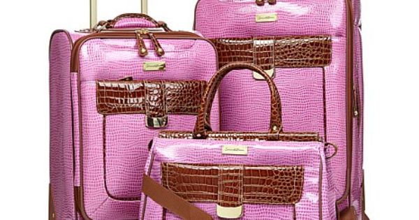Samantha Brown Luggage Qvc: Samantha Brown First Class Collection 3-piece Set. I Want