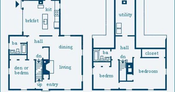 Mckie roth design saltbox plan for the home pinterest for Mckie wing roth home designs