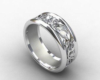 Mens Wedding Rings Decorhstyle Com In 2020 Mens Wedding Rings Unique Mens Wedding Rings Rings For Men