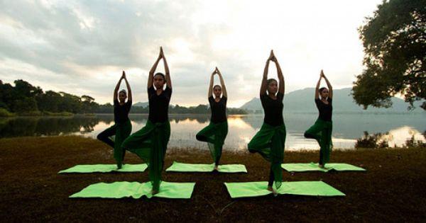Yoga Activities Lake Resort Resort Spa Resort