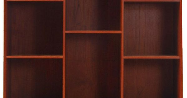 I'm a sucker for book shelves. 1950's Bookcase | Designer: Hvidt and