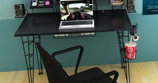 Video Gaming Computer Desk Table For Pc Xbox Ps4 Monitor