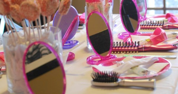 Really cute idea for little girls party. spa party ideas for 8