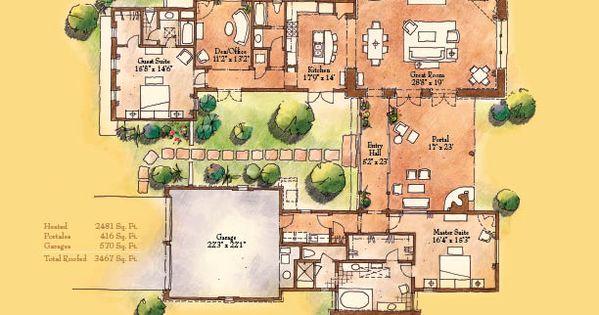 Small hacienda style homes caballo 2 481 sq ft 2 for Small hacienda house plans