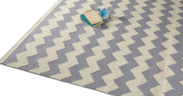 The Accent Rug In Smoky Chevron Just 159 Rugs Accent Rugs Handwoven Rugs