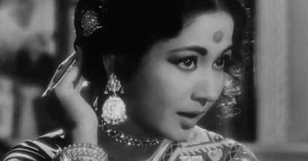 "164 Best Rekha Gemini Ganesan Images On Pinterest: Meena Kumari Singing ""Piya Aiso Jiya Mein"" From Sahib Bibi"