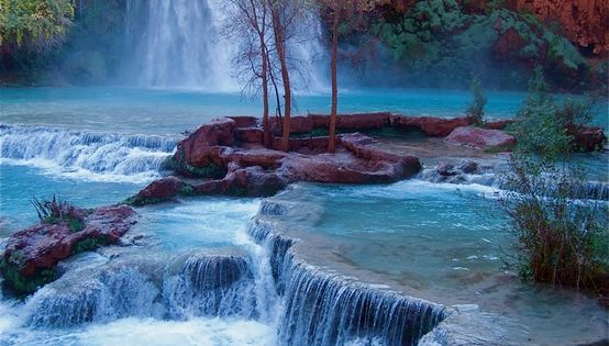 Havasu Falls, Grand Canyon National Park. I would love to go back