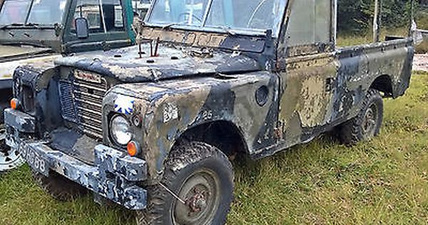 Land Rover Series Iii 3 109 Ex Military 2 25 Petrol Project