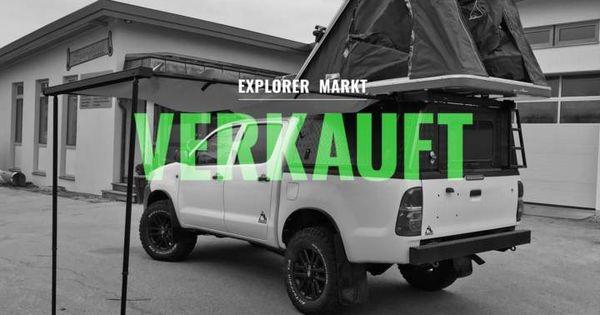 Toyota Hilux 4x4 Double Cab 2 5l Mit Hardtop Und Dachzelt Gebraucht Zu Verkaufen Toyota Toyota Hilux Heckscheibe