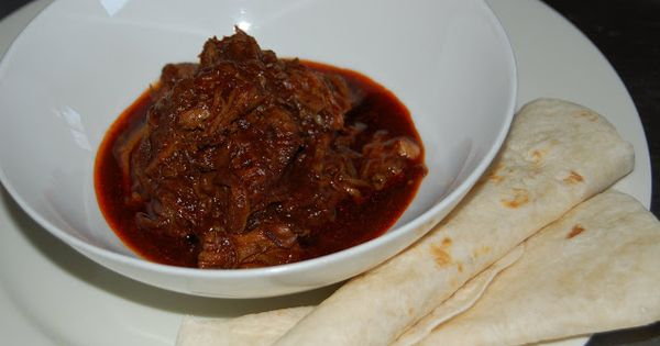Pork Chile Rojo (Pulled Pork With Red Chile Sauce) Recipe — Dishmaps