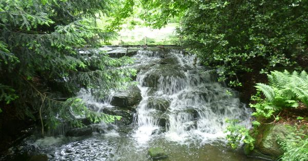 Waterfall On The River Wandle In The Grove Carshalton By Ian Yarham Via Geograph Still