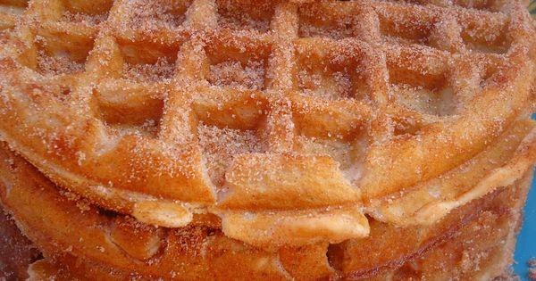 Churro Waffles Food Drink Trusper Tip