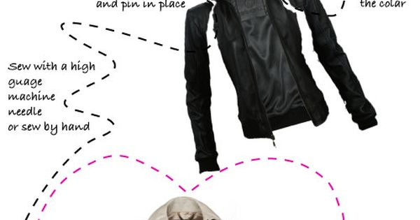 diy burberry trench with leather sleeves refashion