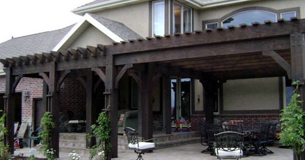 Beautiful pergola!